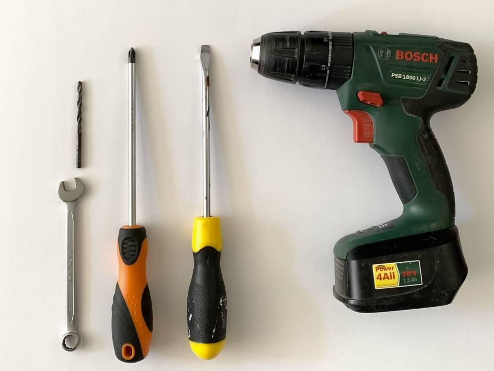 restoration kit tools needed